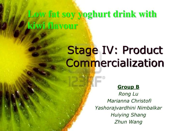 stage iv product commercialization n.
