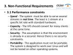 3 non functional requirements
