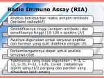 radio immuno assay ria