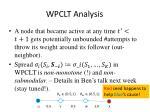 wpclt analysis1