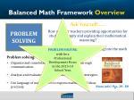 balanced math framework overview3