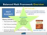 balanced math framework overview6