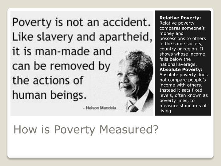 Relative Poverty: