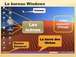 le bureau windows