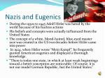 nazis and eugenics