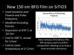 new 150 nm bfo film on srtio3