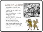 europe in general