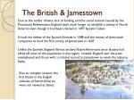 the british jamestown