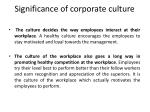significance of corporate culture