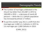 demographic trends1