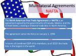 multilateral agreements nafta