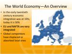 the world economy an overview