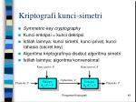 kriptografi kunci simetri