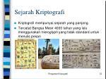 sejarah kriptografi