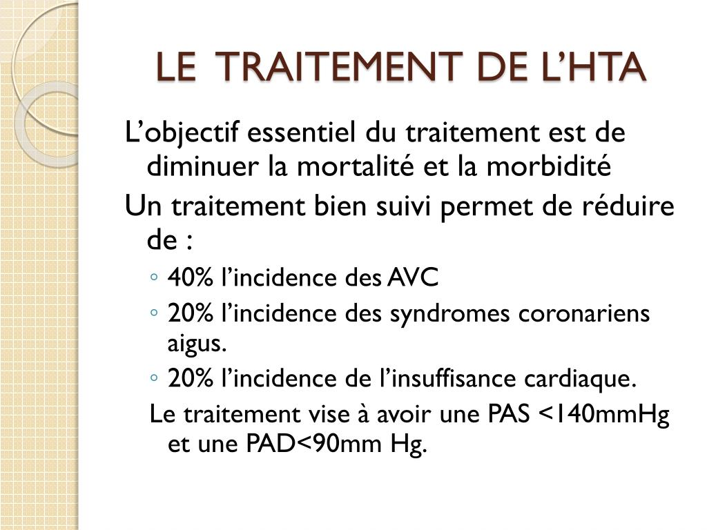 PPT - HYPERTENSION ARTERIELLE PowerPoint Presentation - ID..