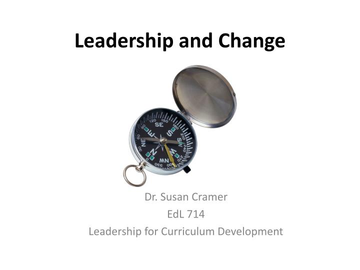 leadership and change n.