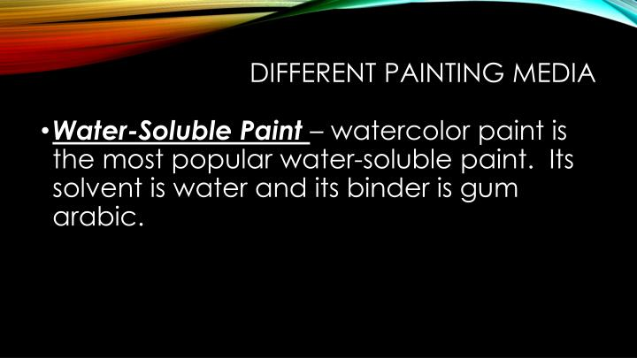 PPT - Painting 101 PowerPoint Presentation - ID:2198946