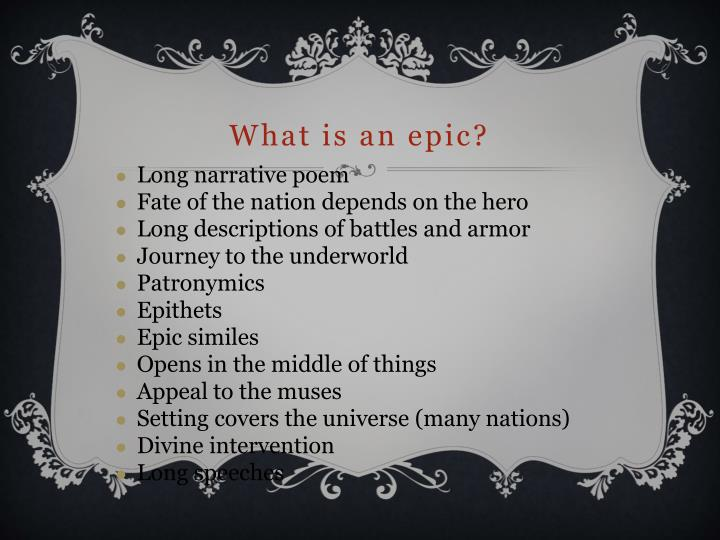 what is an epic simile Get an answer for 'disciss the epic similes employed by milton in book 1 of paradise lostthe question is very importantnt from examination point of view,please give a comprehensive answer' and find homework help for other paradise lost questions at.