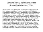 edmund burke reflections on the revolution in france 1790
