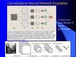 convolutional neural network examples