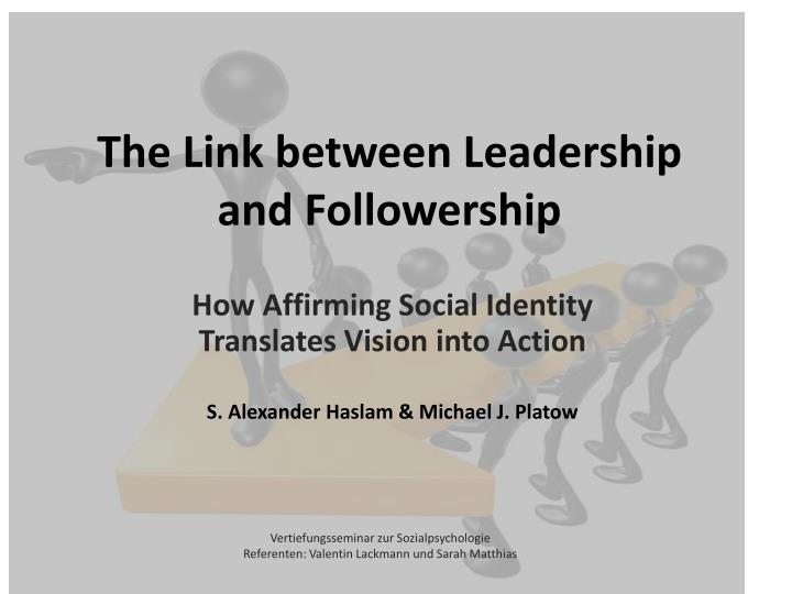 the link between leadership and followership n.