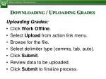 downloading uploading grades4