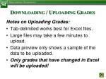 downloading uploading grades5