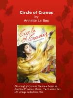 circle of cranes by annette le box