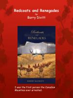 redcoats and renegades by barry divitt