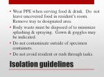 isolation guidelines1