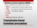 transmission based isolation precautions2