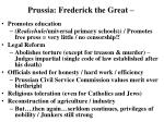 prussia frederick the great