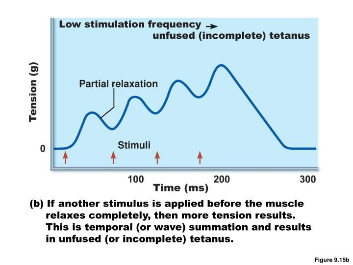 Low stimulation frequency