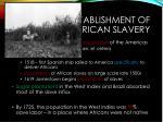 establishment of american slavery