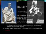 the brief history of slavery