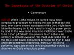 the importance of the doctrine of christ43