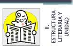 ii estructura literaria y unidad