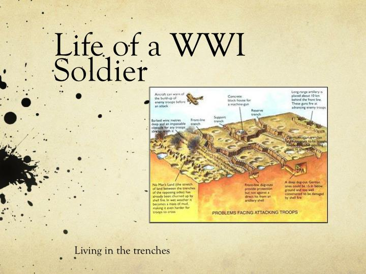 life of a wwi soldier n.