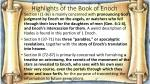 highlights of the book of enoch