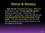 christ victory