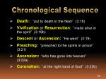 chronological sequence1
