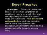 enoch preached1