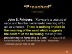preached kerusso1