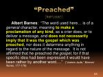 preached kerusso2
