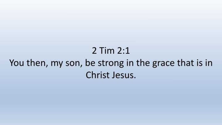 2 Tim 2:1