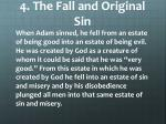 4 the fall and original sin