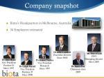 company snapshot1