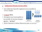 achitectures orient e services soa