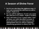 a season of divine favor2