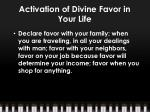 activation of divine favor in your life4